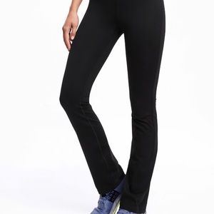 High-Waisted Straight Compression Pants NEW